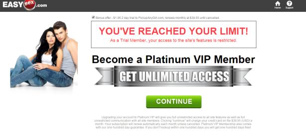 is easysex.com a scam