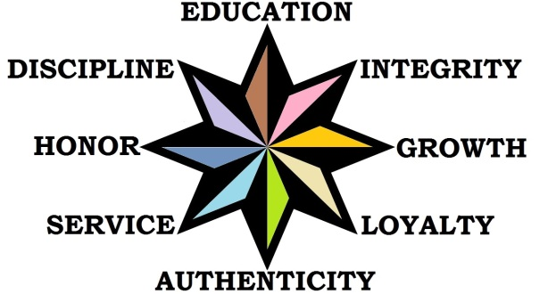 8-point-star FullColor and Text